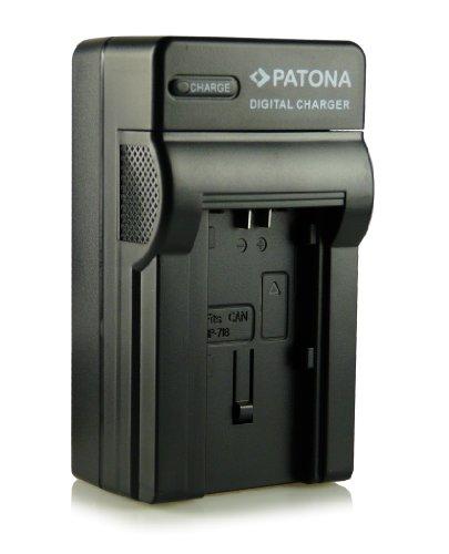Patona® BP-727 - Cargador 3 en 1 para  Canon Legria HF M52, HF M56, HF M506, HF R36, HF R37, HF R38, HF R46, HF R47, HF R48, HF R306, HF R406, Canon Vixia HF M50, HF M52, HF M500, HF R30, HF R32, HF R40, HF R42, HF R300, HF R400, etc.