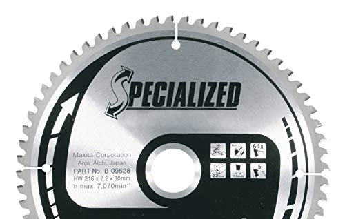 MAKITA A-87579 - Disco de HM de 305 mm 76 dientes para tronzadora de metal lc1230