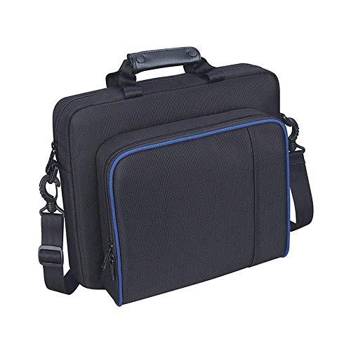 OurLeeme PlayStation 4 Cases Tasche, Reise-PS4-Tragetasche PlayStation Tragbarer, Leichter Reisespeicher, Schützende Schulterhandtasche für PlayStation PS4 oder PS3 oder andere ähnlich große Konsolen