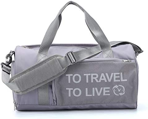Small Sport Gym Bag for Women and Men Waterproof Tote Travel Duffel Bag Overnight Workout Bag product image