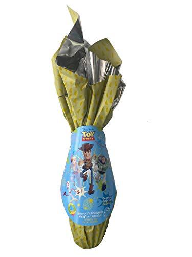 Disney Toy Story Uovo di Pasqua al Cioccolato al Latte Formato Grande 120g + Sorpresa Dentro (ESCLUSIVO) Uovo di Pasqua ufficiale 120g