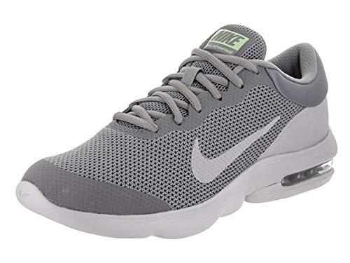 Nike Men's Air Max Advantage Running Shoe Black/White