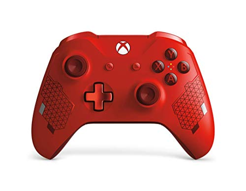 Microsoft - Mando inalámbrico deportivo, Sport Red [Edición Especial] (Xbox One)