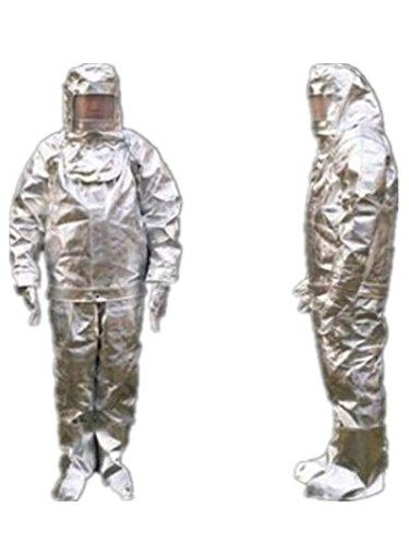 Wärmestrahlung, 1000 Grad hitzebeständig, aluminisiert, feuerfeste Kleidung