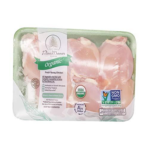 Pine Manor Organic Boneless Skinless Chicken Thighs