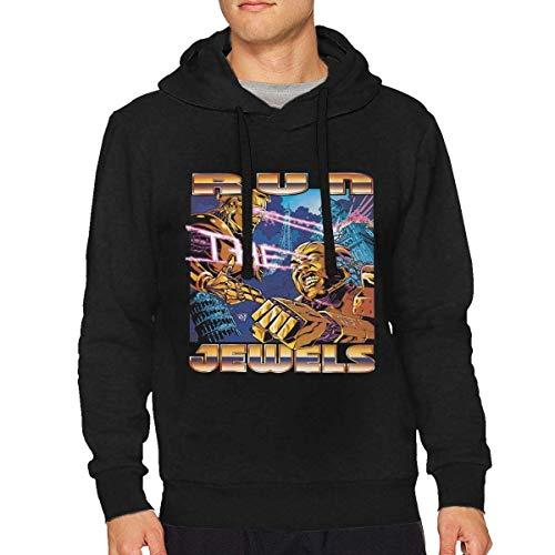 Run The Jewels Mens Hoodie Pullover Sweatshirt Black