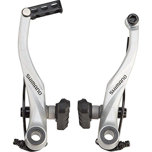 SHIMANO Mountain Bicycle V-Brake - BR-T4000 (Silver - Front)