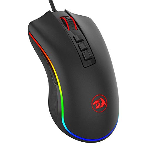 Redragon M711 Cobra Gaming Mouse with 16.8 Million RGB Color Backlit, 10,000 DPI...