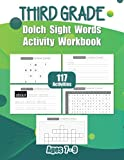 Third Grade Dolch Sight Words Activity Workbook: Learn, Trace, Write & Practice Sight Words With Letter Tracing, Finding Missing Letter, Word Search & ... Activities For Third Grade Kids | Ages 7-9