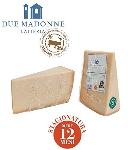 Parmigiano Reggiano Dop di primissima scelta dal 1939 Ingredienti: buon latte, sale e caglio e tanta passione Stagionatura minima di oltre 12 mesi Latte da bovine alimentate con prodotti naturali privi di O.G.M.