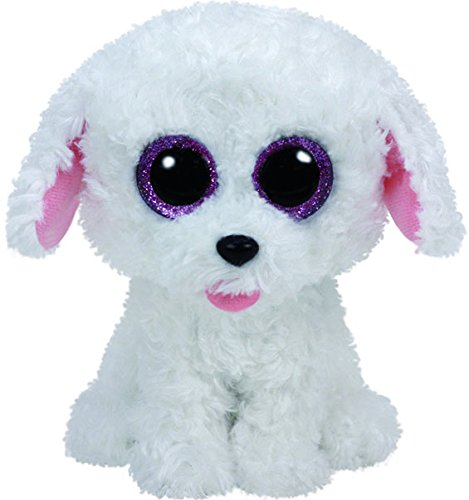 Ty- Peluche, Juguete, Color Blanco, 15 cm (United Labels Ibérica 37175TY)