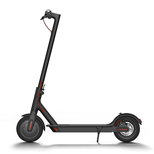 Xiaomi Mi Electric Scooter, 18.6 Miles Long-range Battery, Up to 15.5 MPH, Easy Fold-n-Carry Design, Ultra-Lightweight Adult Electric Scooter (US Version with Warranty)