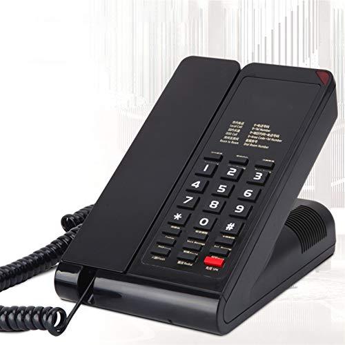 YYCHJU Teléfono con Cable Teléfono con Cable con Altavoz, Transferencia de Flash, extracción de Mensajes, teléfono Fijo a Prueba de Agua y a Prueba de Humedad para el Hotel
