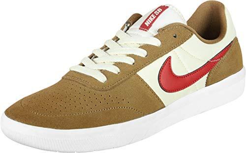 Nike SB Team Classic, Zapatillas de Deporte Unisex Adulto, Multicolor (Golden Beige/University Red/Light Cream 202), 40.5 EU
