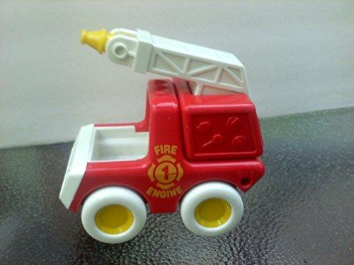 VINTAGE TONKA Fire Engine 1 1987 Bandai Tonka Truck 4.5 Inches Long