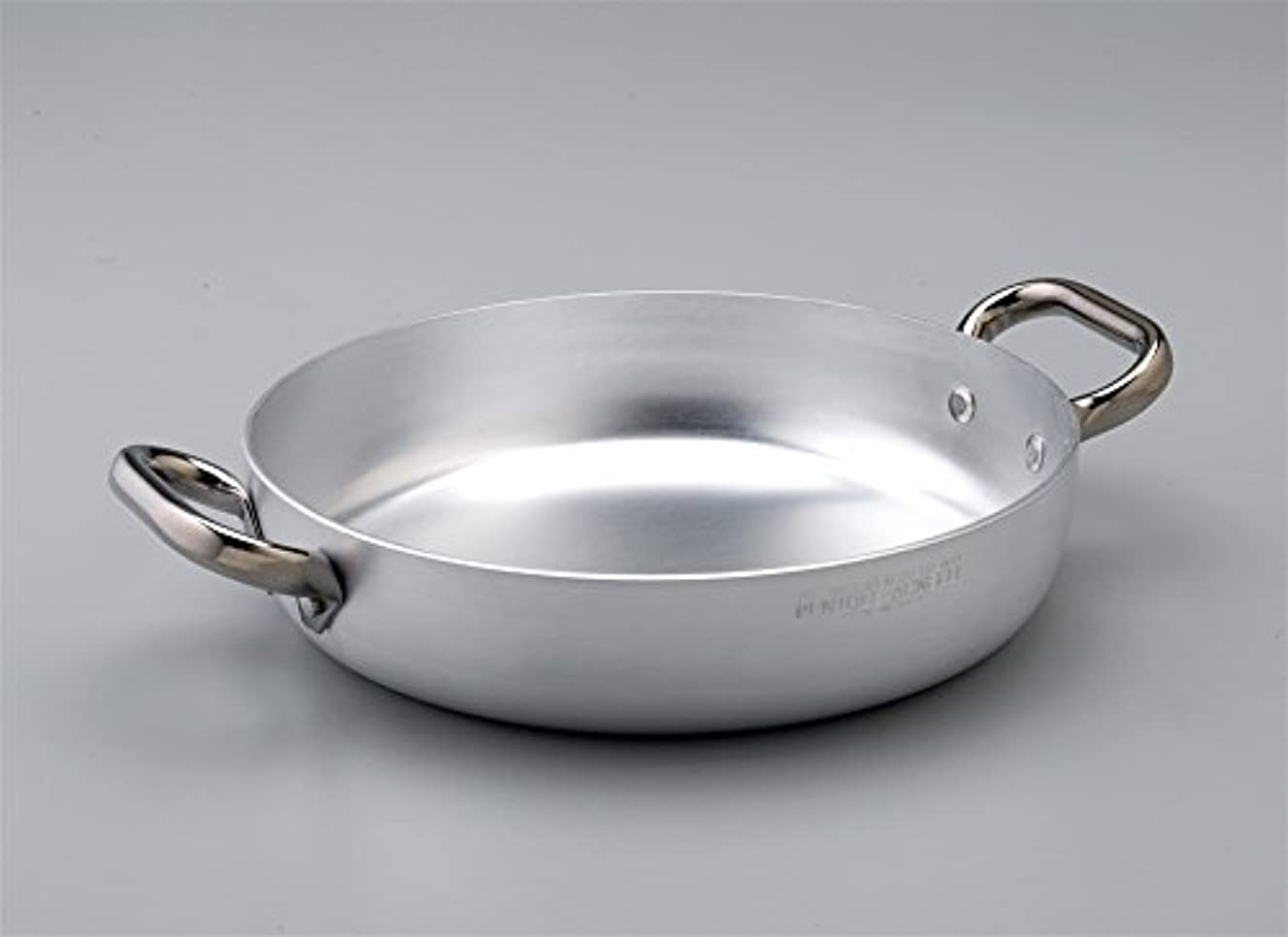 Pentole Agnelli Aluminium Professional 3 Mm. Thick Induction Omelette Pan With 2 Handles, Diameter 28 Cm.