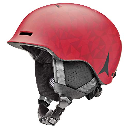 Atomic Mentor JR Kinder-Skihelm, S (53-56 cm), Rot, AN5005596S