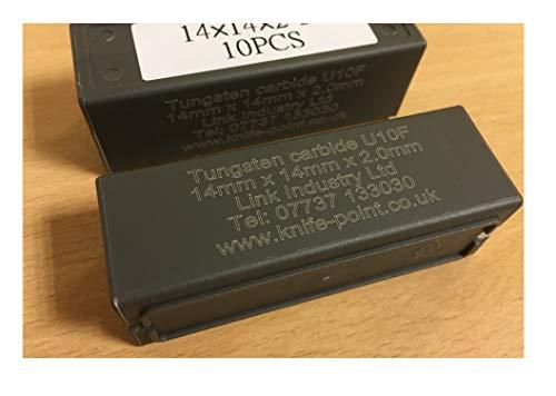 Metabo 10 Hartmetall-Wendemesser (als Ersatz) für die Lackfräse LF 724 F (631660000)