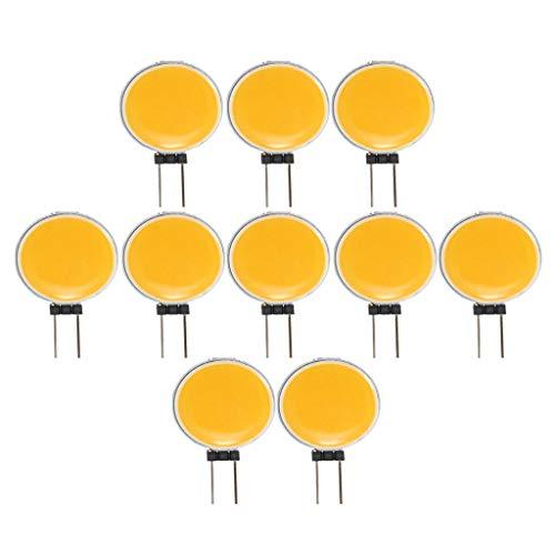 balikha 63 Bombillas LED No Regulable G4, 3.84W / 3.6W, Reemplazo para Lámpara Halógena, Blanco cálido