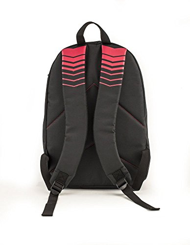 419WgG9isoL - MotoGP Schulrucksack/Backpack Red/Black 35l 3 Reißverschlussfächern Mochila Tipo Casual, 45 cm, 35 Liters, Multicolor (Red/Black)