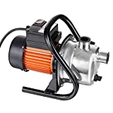 1.6HP Water Transfer Pump - 850GPH Stainless Steel Electric Water Pump, Shallow Well Pump for Home Garden Water Pressure Transport Irrigation, 66PSI Sprinkler Pumps
