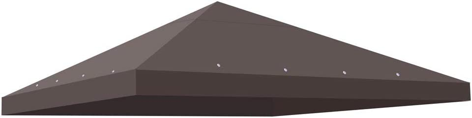 Yescom 10'x10' Sales results No. 1 Gazebo Top Replacement Outdoor Canopy 1 Tier for Ranking TOP19