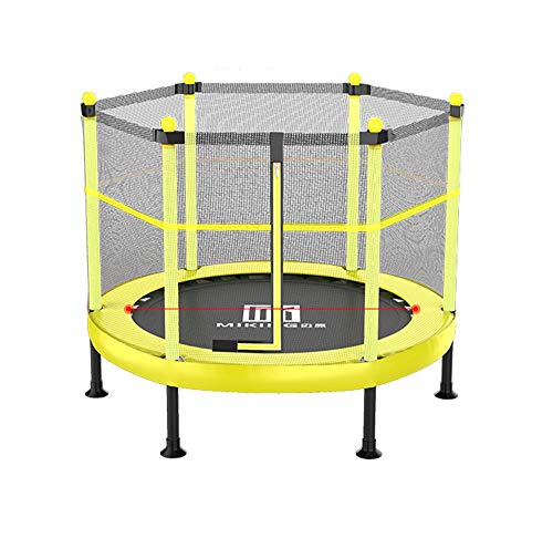 Portátil Plegable Cama Elástica de Jardín Jump, Trampolín con Red de Seguridad, Cama de Saltar para Niños y Adultos,Interior y Exterio