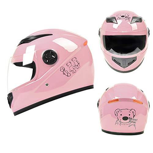 KOKOF Cascos de Bicicleta, Cascos de Bicicleta eléctricos, Bicicletas de Carreteras, Cascos de Bicicleta, Hombres y Mujeres, adecuados para Conjuntos Seguros de Adultos (a Pink-A