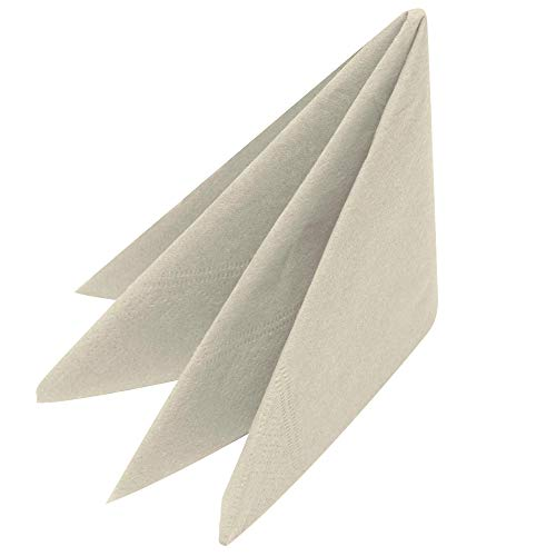 Swantex Serviettes Devon Cream 33 cm 2 Plis Paquet de 100 | Serviettes jetables, Serviettes de Table, Serviettes en Papier, Serviettes de Table