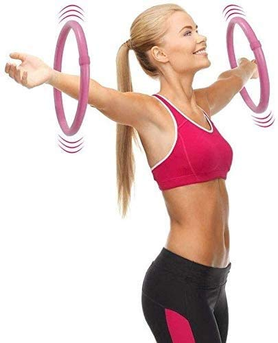 SLZFLSSHPK Hoola hoop for fitness Mature sports hula hoop for workout - arm hula hoop fat burning exercise balance eliminated wild meat massage thin arm, practice equilibrium Sense, 2 hoops