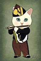ZNLEY.O 面白い有名な絵画漫画猫モダンな美術壁画ポスター家族の子供部屋の寝室の壁装飾キャンバスアート(フレームなし) (Color : 3, Size (Inch) : 70x100cm(No Frame))