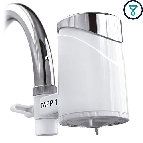 TAPP Water TAPP 1 - Filtro de Agua para la Cocina - Elimina Cloro, Metales Pesados, Microplasticos - Sistema de Filtración Grifo