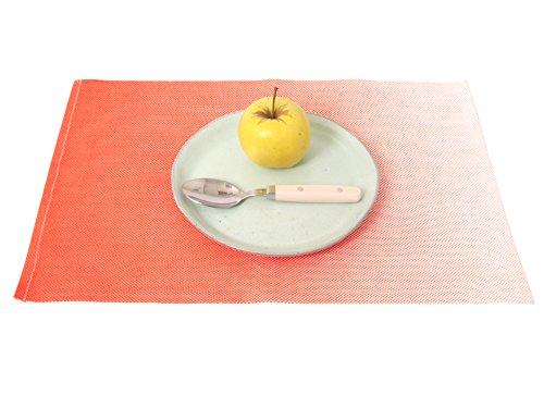 pt, PT3055OR Set DE Table OMBRAGÉ Orange