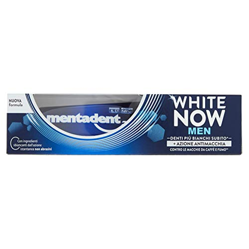 Mentadent White Now Men Super Pure (1 stuks)