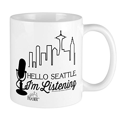 CafePress Frasier: Hello Seattle Mug Unique Coffee Mug, Coffee Cup