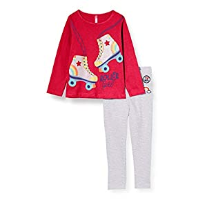 Lina Pink BF.Roll.pl Conjuntos de Pijama para Niños
