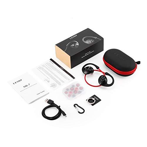 Dpatleten Caracol In-Ear Sport V4.0 Auriculares Auriculares portátiles Podómetro Rojo