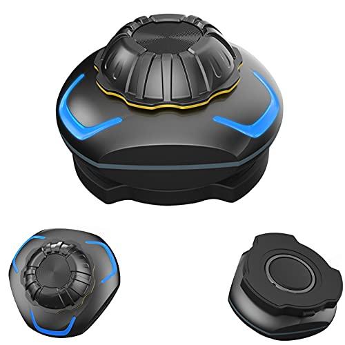 2021 Nueva conducción inalámbrica de hueso Auriculares Bluetooth, Auriculares de casco Conduzxión ósea Bluetooth Estéreo inalámbrico Teléfono manos libres IP68 Impermeable, para bicicletas al aire