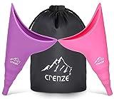Crenze Frauen Urinal - 2 Stück Wiederverwendbare Urinella für Frauen, Ideal für unterwegs wie Camping, Reisen, Wandern, Bergsteigen