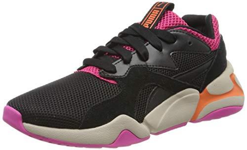 Puma NOVA URBAN 90'S WN's, Damen Sneaker, Pink (Fuchsia Purple-PUMA Black 01), 39 EU (6 UK)