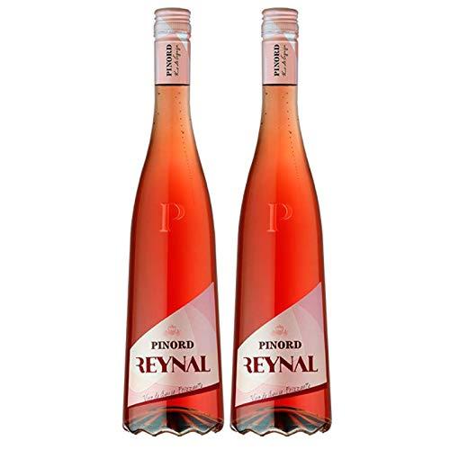 Pinord Vino De Aguja Frizzante Rosado - 3 Paquetes de 1500 ml - Total: 4500 ml
