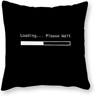 Cushion Cover Aesthetic Quote Positive Canvas Throw Pillow Covers Decorative Pillowcase Square Throw Pillow Shell Cases for Men Women Boys Girls Living Room Bedroom Sofa Chair