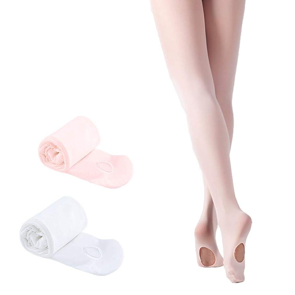 STELLE Girls' Ultra Soft Pro Dance Tight/Ballet Transition Tight (Toddler/Little Kid/Big Kid)