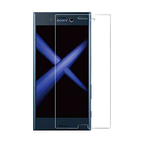 [2 unidades] Protetor de tela compacto Sony Xperia XZ1, protetor de tela compacto de vidro temperado, protetor de tela transparente HD para Sony Xperia XZ1 compacto de 4,6 polegadas