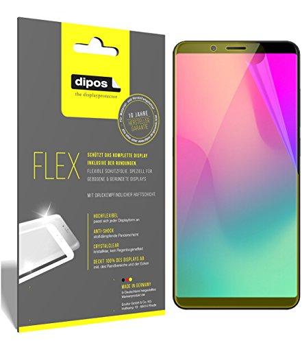 dipos I 3X Schutzfolie 100prozent kompatibel mit Nubia Z18 Mini Folie (Vollständige Bildschirmabdeckung) Bildschirmschutzfolie