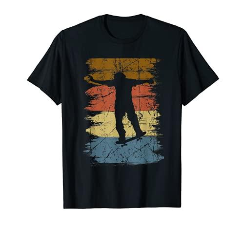 Skateboarding Skater Geschenk Skateboader Skater Sk8 T-Shirt