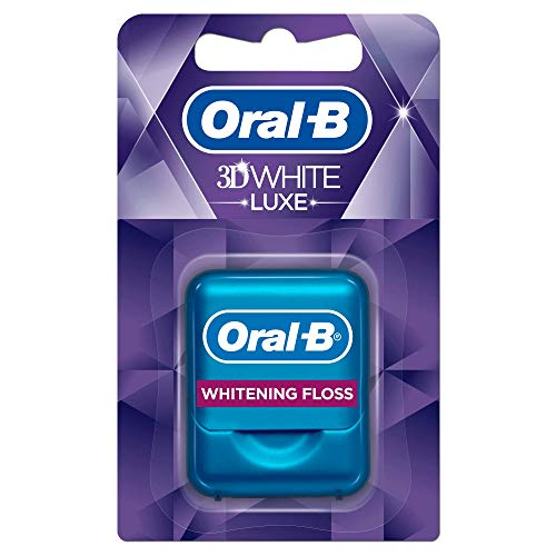 Oral-B 3D White Luxe Whitening Zahnseide, 35m