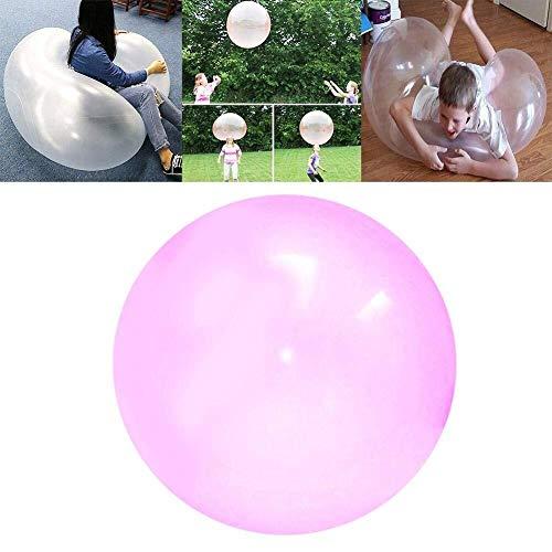 Panneau de Plage - La Boule Transparente Gonflable surdimensionnée de Bulle de Plage de TPR Peut être remplie avec de l'eau for l'amusement extérieur dans la Cour de Jardin, Partie de Plage, Piscine