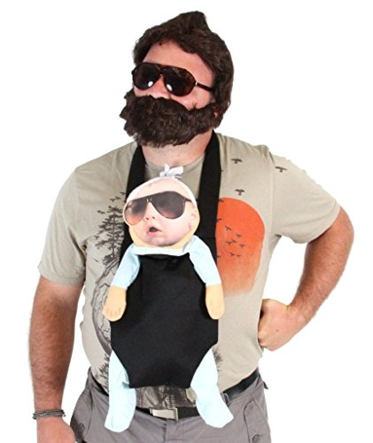 The Hangover Alan Deluxe Kostüm Set Erwachsene (Erwachsene XXX-Large, Mehrfarbig)