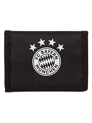 adidas FC Bayern Wallet Geldbeutel, Black/Fcbtru/White, NS